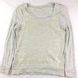 J. Crew Size L Sequined Sweatshirt 33583